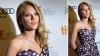 بالصور سكارليت جونسون تتألق بـفستان موف في مهرجان تورنتو السينمائي