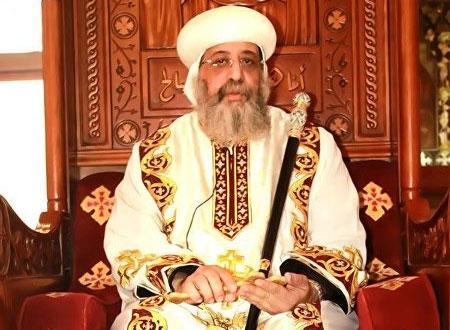 تواضروس الثاني يشارك في جنازة بطريرك الكنيسة السريانية