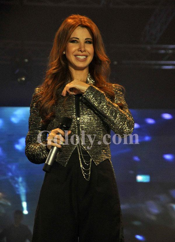 نانسي عجرم حفل استاد القاهرة 2013