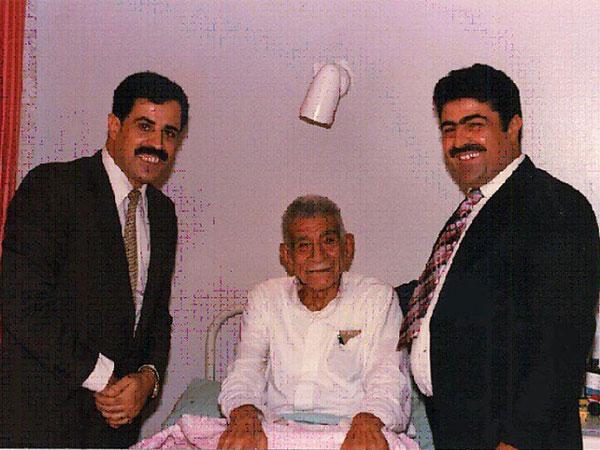 محمد نجيب في المستشفى العسكري بالمعادي