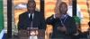 مترجم الاشارة في حفل تابين مانديلا