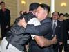 دنيس رودمان برفقة الزعيم الكوري
