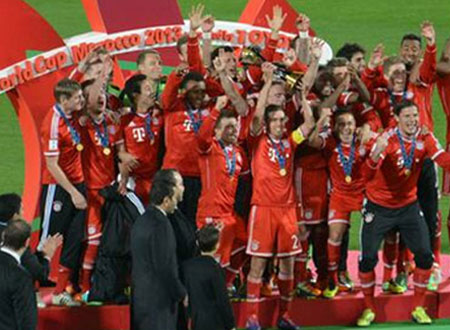 تتويج بايرن ميونيخ بلقب كأس العالم للأندية