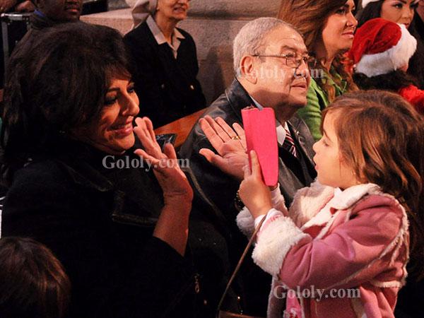 هالة صدقي تحتفل بالكريسماس - دوللي شاهين - منال سلامة