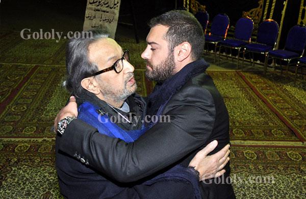 عزاء والد عمرو يوسف