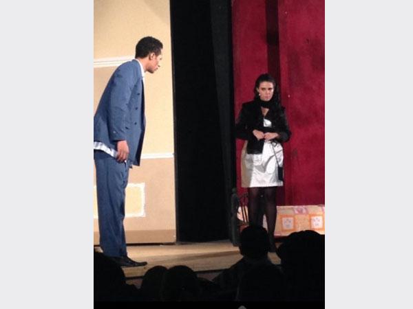 محمد رمضان يفتتح عرضه المسرحي رئيس جمهورية نفسه