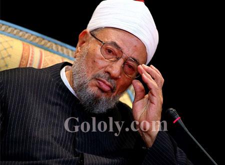 يوسف القرضاوي يطالب أحمد الطيب بأن يراجع اجتهاده