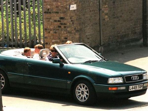 سيارة الاميرة ديانا