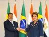 محمد مرسي مع رئيسة البرازيل ديلما روسي
