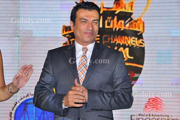 ايهاب توفيق - حفل تكريم النجوم والاعلاميين في مهرجان القنوات الفضائية