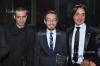 هاني البحيري - احمد زاهر - محمد فراج - حفل تكريم النجوم والإعلاميين في مهرجان القنوات الفضائية