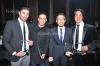 احمد فاروق - محمد فراج - احمد زاهر - هاني البحيري - حفل تكريم النجوم والاعلاميين في مهرجان القنوات الفضائية