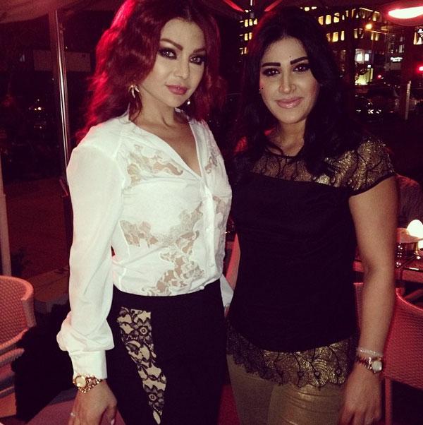 بالصور سهرة عشاء خاصة تجمع هيفاء وهبي زوجة صابر 2014-04-23_00272.jpg