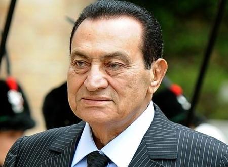 السيرة الذاتيه للرئيس المخلوع محمد حسني مبارك