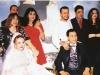 مواقف طريفة في زفاف الفنانين - محمد رياض ورانيا محمود ياسين