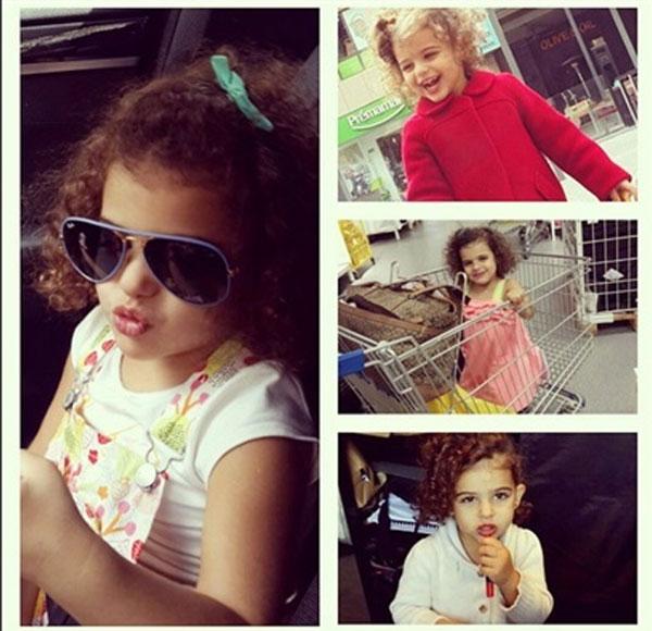 مي عمر تكشف ابنتي تغير علي وترفض عملي في التمثيل
