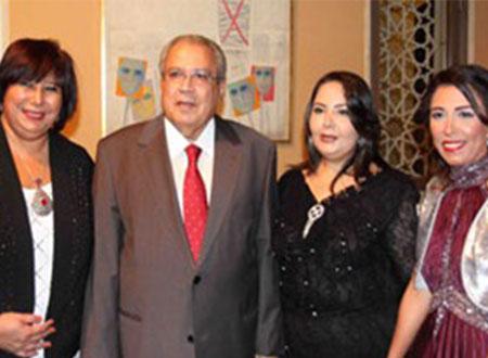 وزيرا الثقافة والشباب فى حفل كوكب الشرق المخصص لصالح «تحيا مصر»