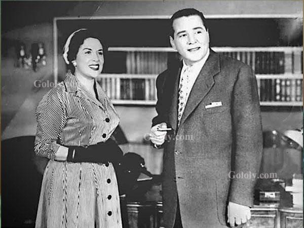 حسين صدقي و ليلى مراد