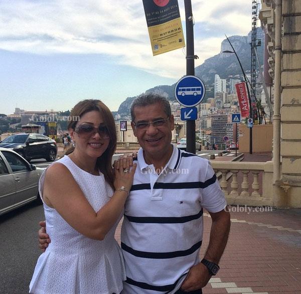 مصطفى الاغا وزوجته