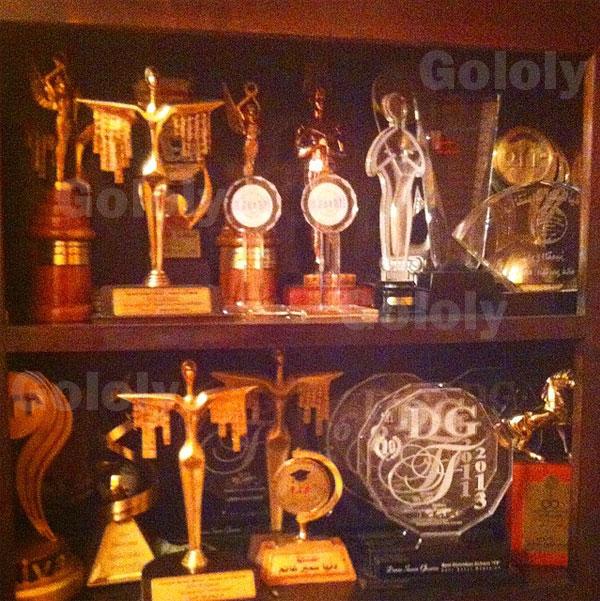 جوائز دنيا سمير غانم