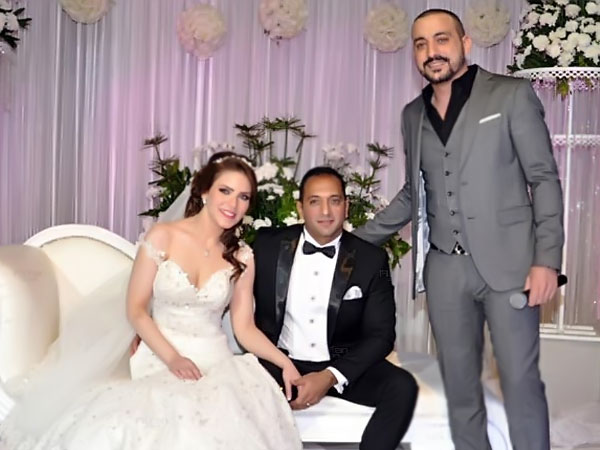حفل زفاف شقيق رانيا يوسف