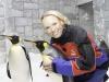 شاهد كارولين فوزنياكي مع البطريق