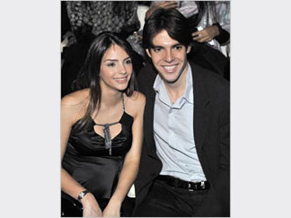كاكا وزوجته في ميلانو