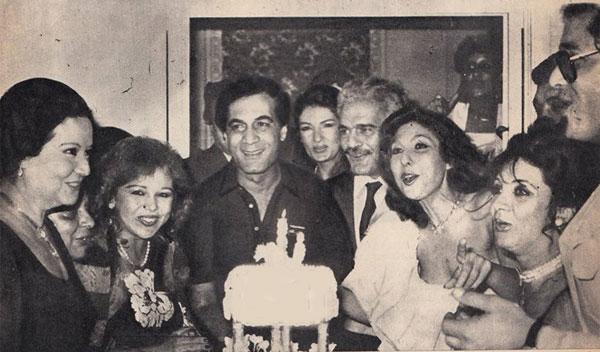 محمود ياسين و نادية الجندي و عمر الشريف و شهيرة