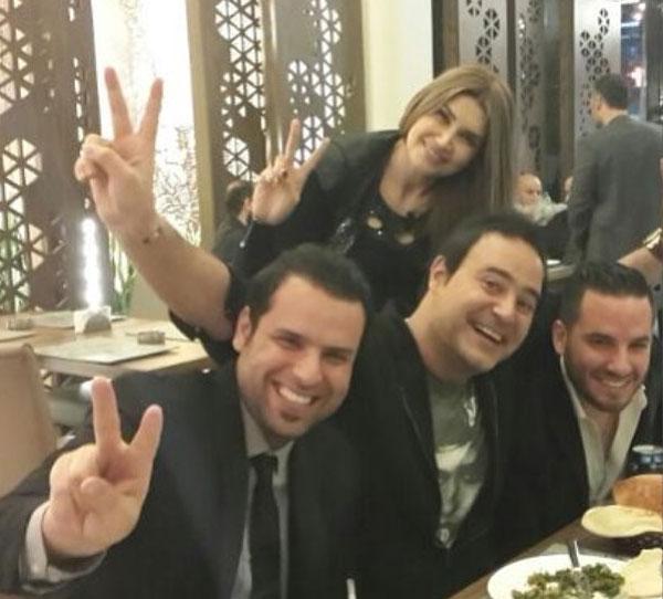 عاصي الحلاني  - اصدقائه
