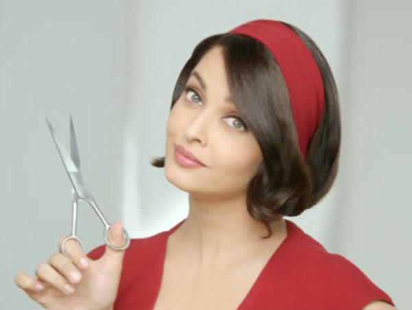 ايشواريا راي تشعل أنوثتها بتسريحة شعر قصيرة رائعة.. صور