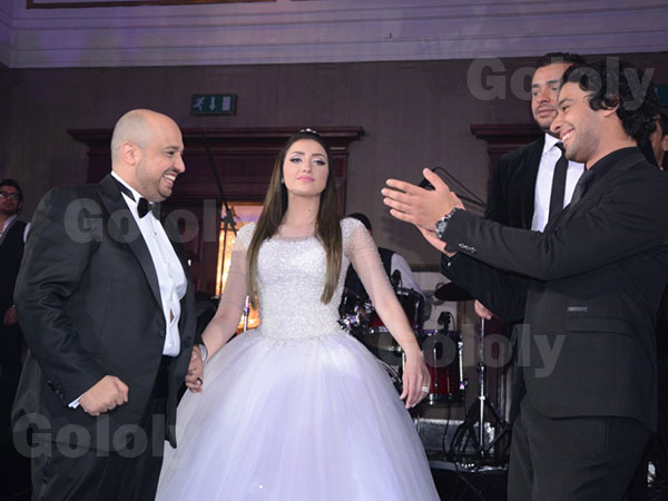 حفل زفاف الموزع توما