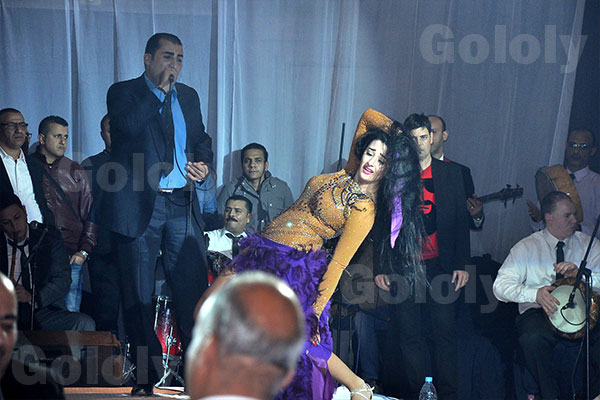 صافيناز في حفل راس السنة 2015