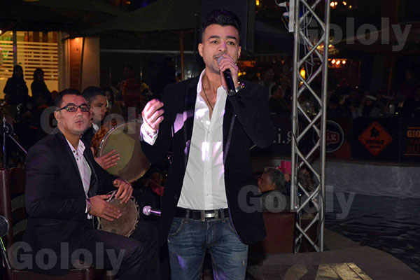 عبد الباسط حمودة و هيثم شاكر في حفل راس السنة 2015