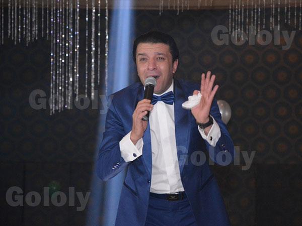 مصطفى كامل في حفل راس السنة 2015
