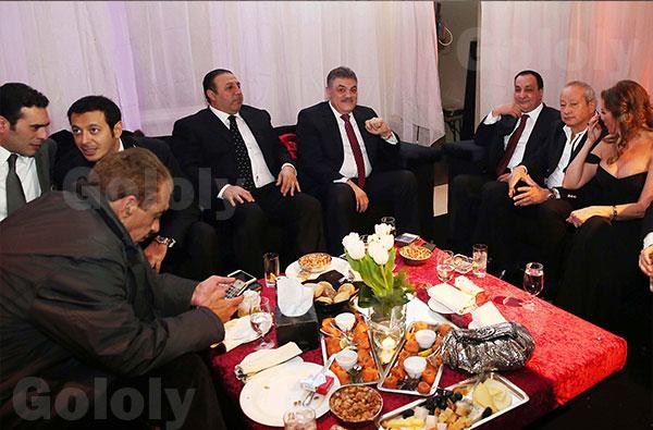 حفل زفاف نجل الصحفي خالد صلاح