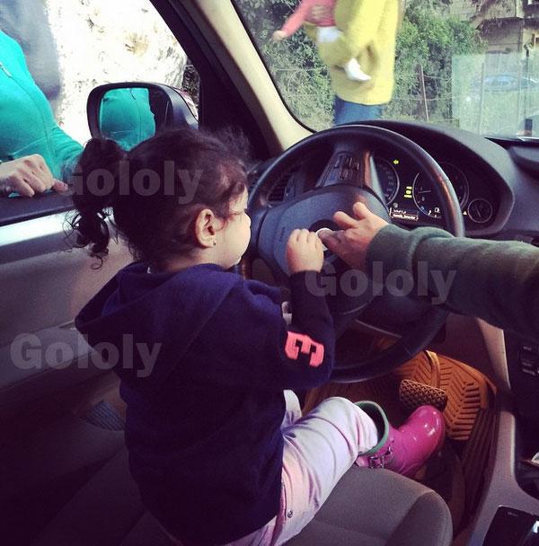 حفيدة غادة عبدالرازق