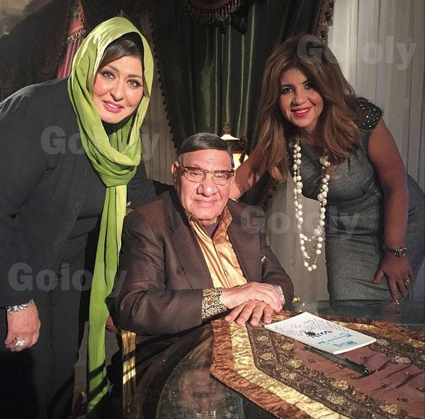 سهير رمزي و بوسي شلبي