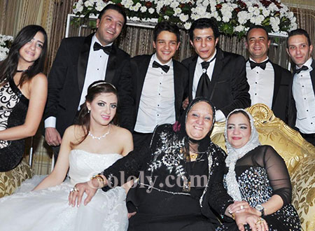 حفل زفاف شقيق مصطفى كامل