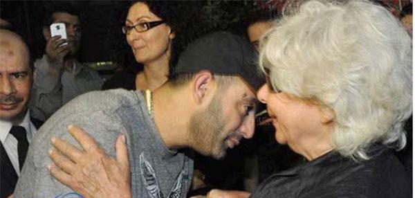 زوجة احمد رمزي و احمد السقا