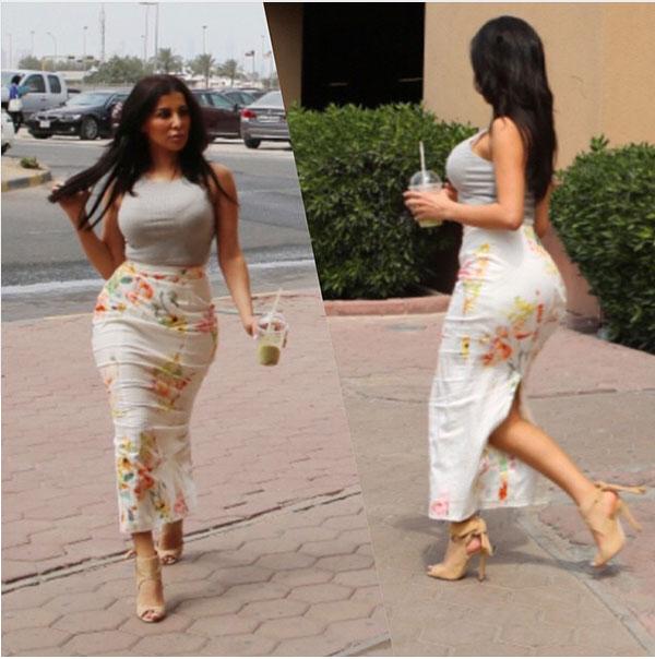 جولولي | الجمهور يسخر من فستان سازديل القصير جدا.. صور