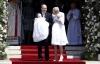 الأمير ألبرت وزوجته يحتفلان بتوأمهما للمرة الأولى أمام الكاميرات