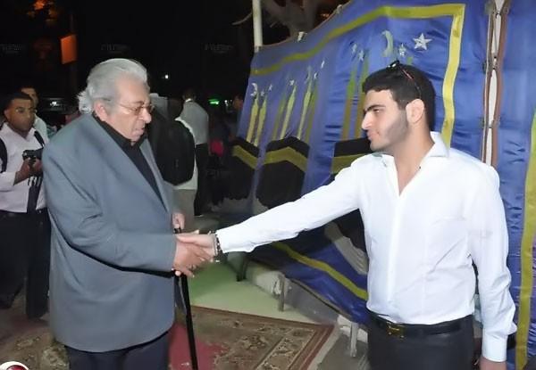 عزاء الفنان حسن مصطفى