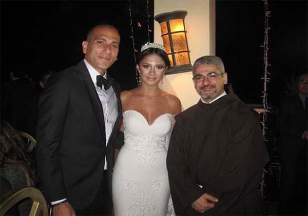الفنانة شيرين تحتفل بزفاف ابنتها ميريت