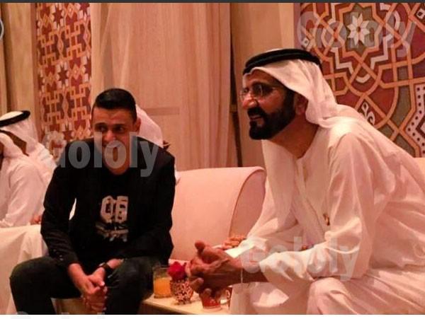 رامز جلال ومحمد بن راشد آل مكتوم