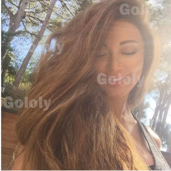 جولولي | ميريام فارس تستعرض حملها بهيكل عظمي وظهر مكشوف.. صور