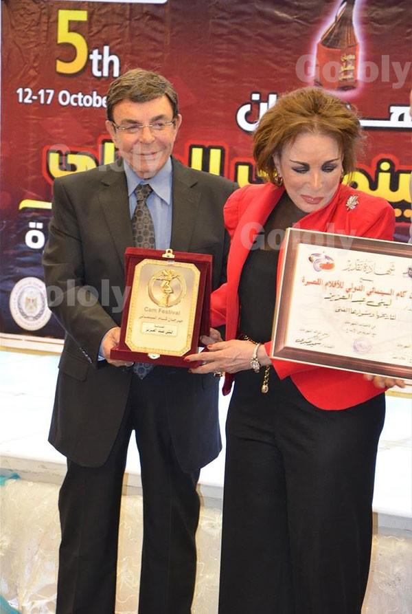 تكريم نورهان ولبنى عبد العزيز