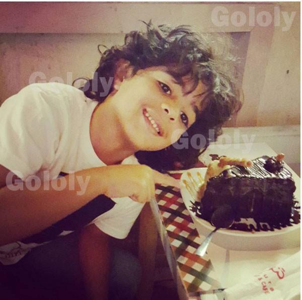 جولولي | عبير صبري تحتفل بعيد ميلاد ابن شقيقها.. شاهد