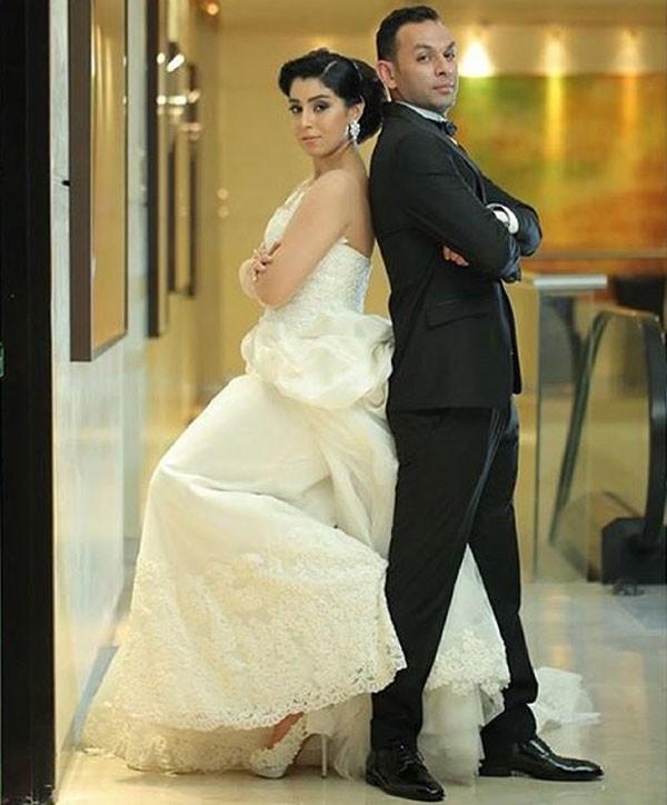 جولولي | أيتن عامر تثير حسد الفتيات بلقطات رومانسية جديدة من زفافها.. صور