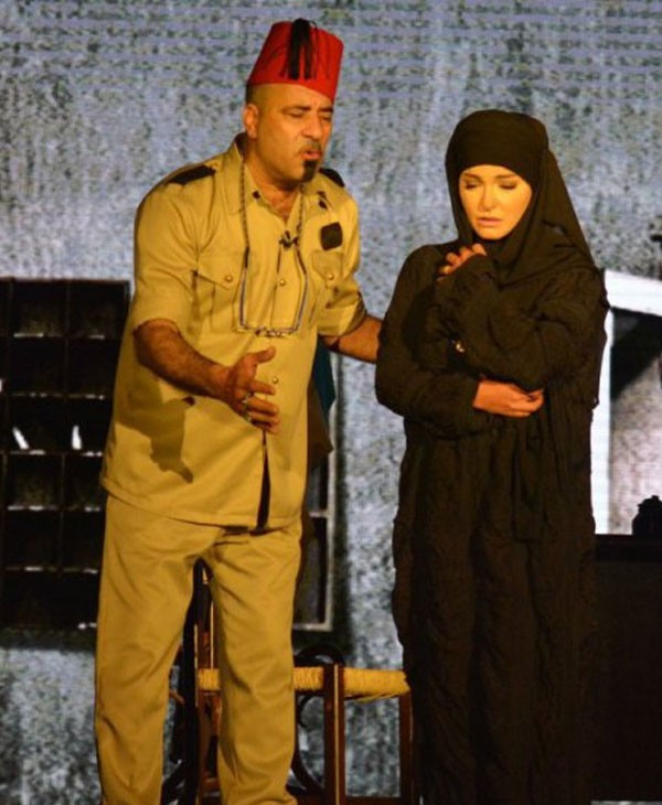 محمد سعد و علا غانم