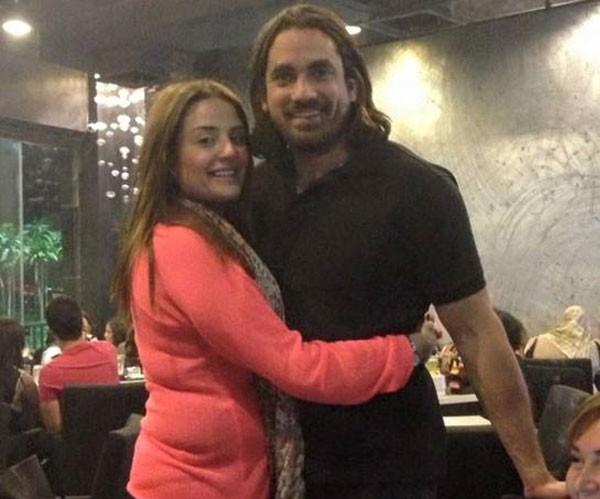 امير كرارة وزوجته